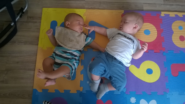 Digestion  avec le copain pour bébé T.